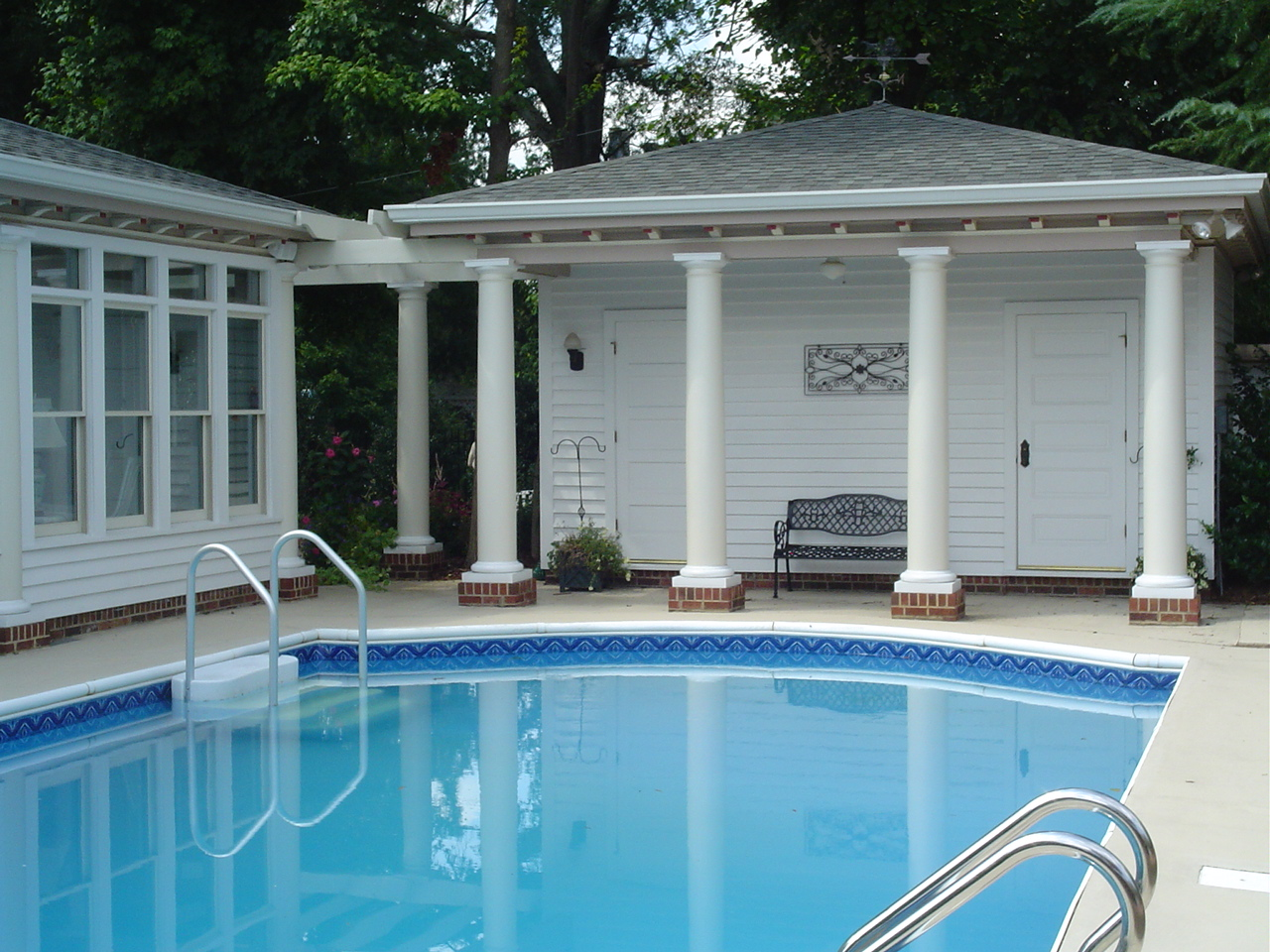 About us for Pool house additions